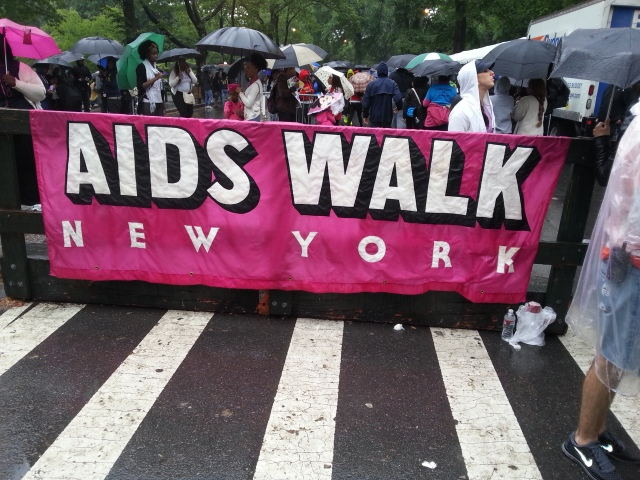 Rain or Shine.... We're walking today!