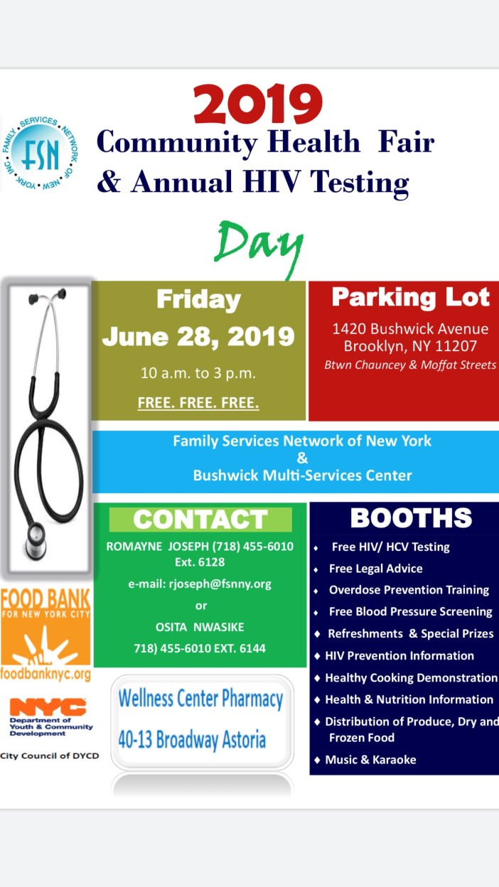 2019 Health Fair Flyer JPG